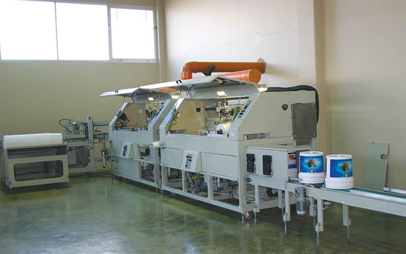 Slickscreen printing machine for pail 18.9Lit. / 17Lit.