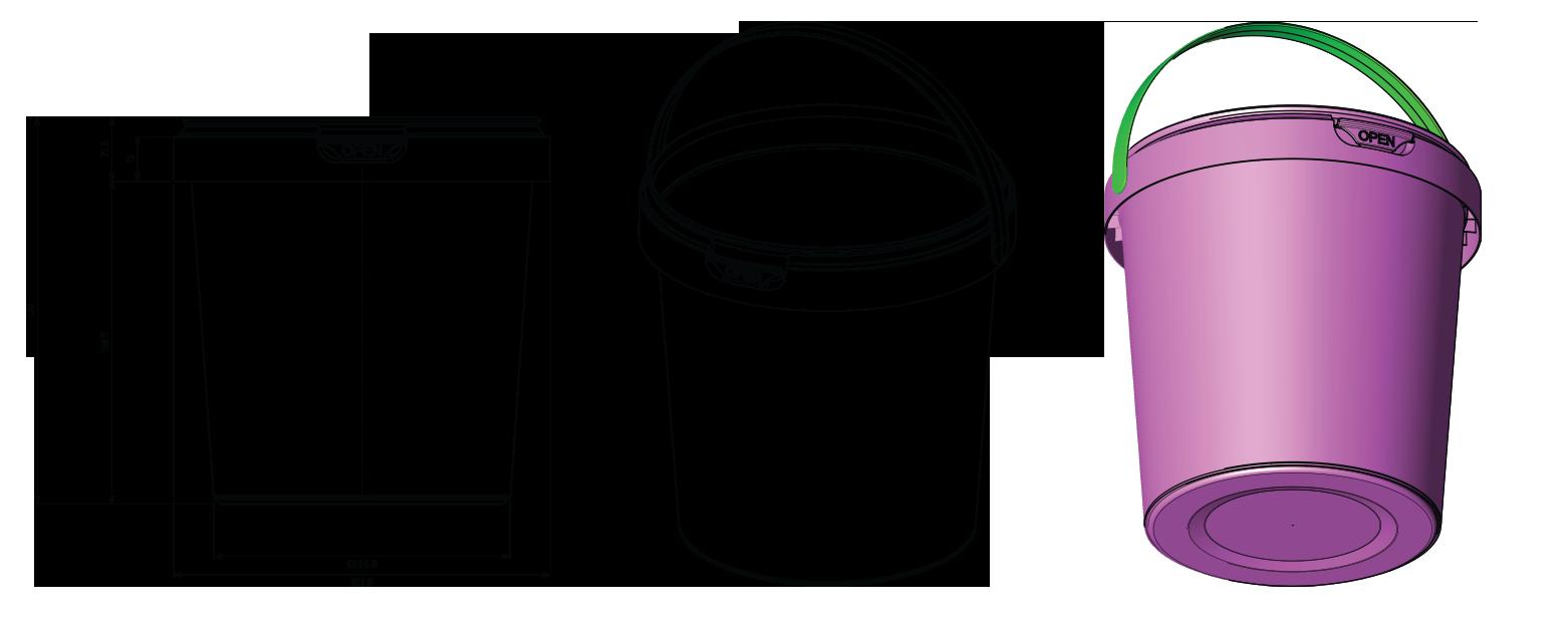 1l plastic bucket mfd plastic manufacturing lebanon anjar bekaa - Chaise design transparente polycarbonate ...